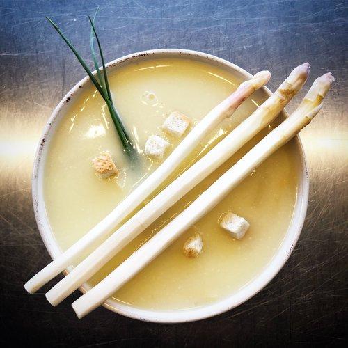 Gelbe Linsen-Curry Suppe, vegan von Suppdiwupp Nürnberg